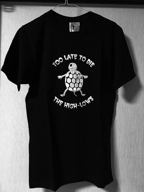 Too late to die Tシャツ