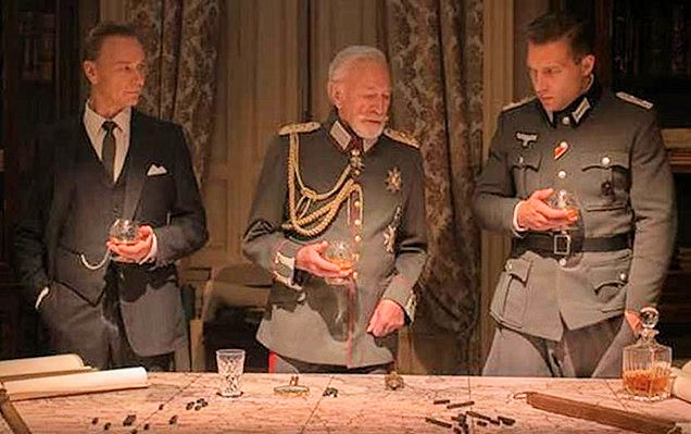 Ben Daniels, Christopher Plummer and Jai Courtney all fancy themselves THE EXCEPTION.