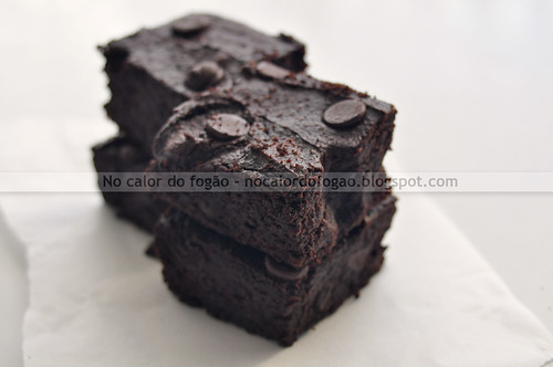 Brownie de cacau e batata-doce