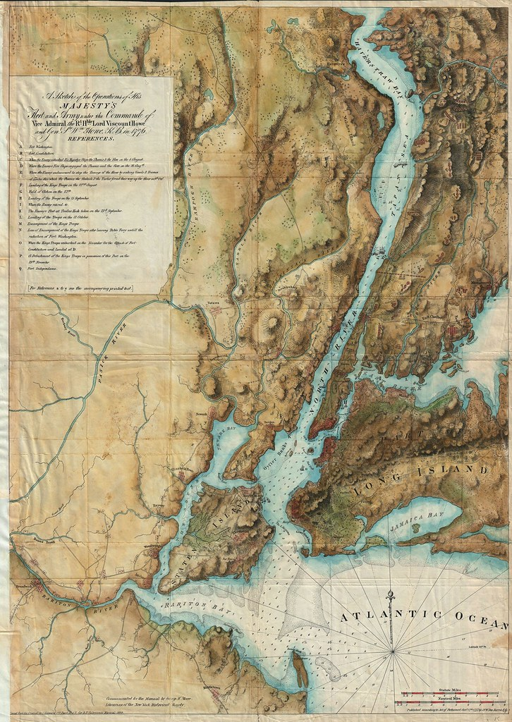 A British Map of New York City (1776)