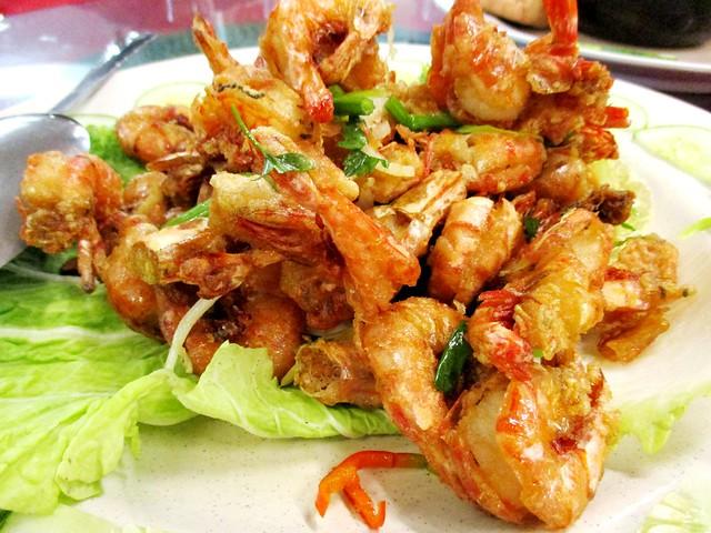 Beijing Restaurant 2008 prawns