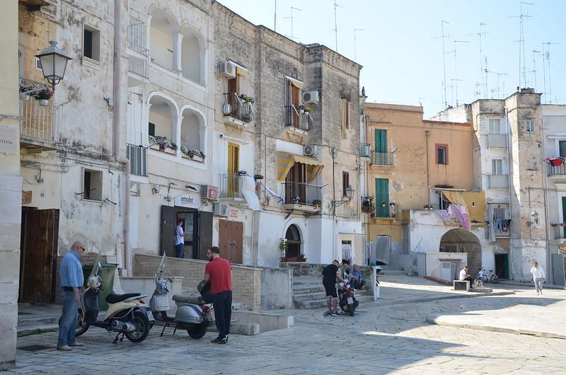 Puglia látnivalói - Bari óváros