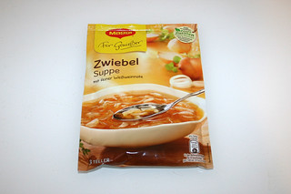 09 - Zutat Zwiebelsuppe / Ingredient instant onion soup