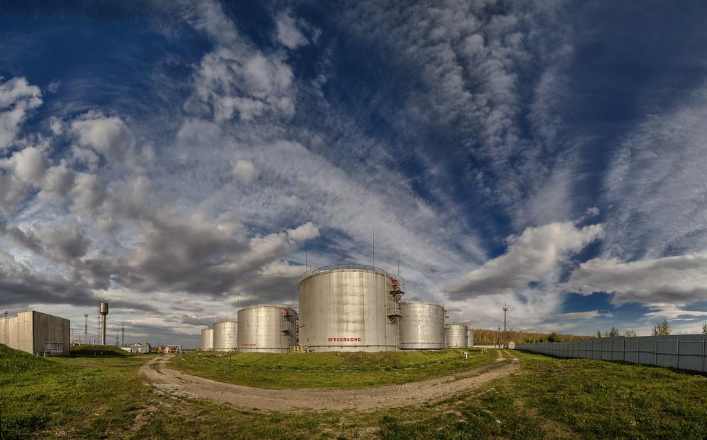 Нефтебаза - фото промышленных объектов Челябинск