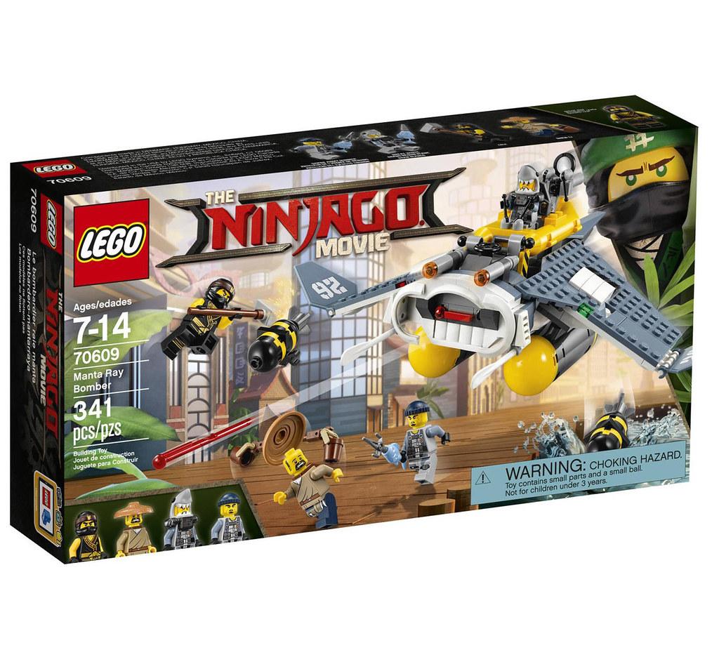 The LEGO Ninjago Movie 70609 - Manta Ray Bomber