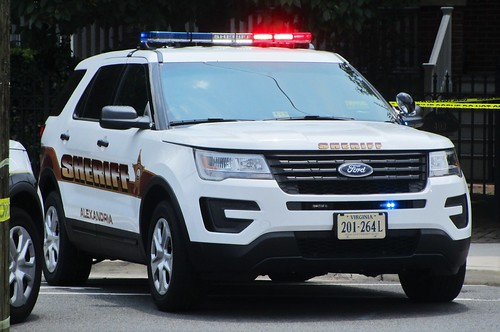 ... NorthernVirginiaPoliceCars Alexandria Sheriffu0027s Office 2017 Ford Police  Interceptor Utility   By NorthernVirginiaPoliceCars