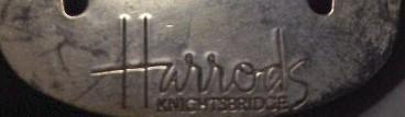 Harrodsのキーホルダー