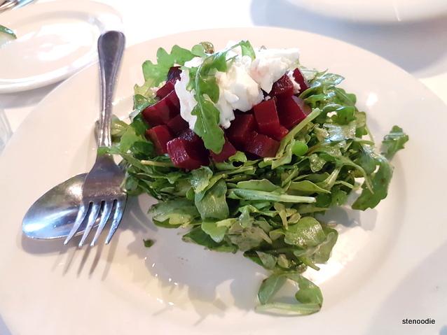Arugula & Beets Salad