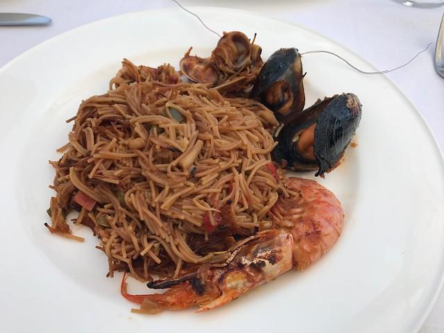 Fideua of seafood - El Rincon de Pepe