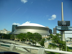 Mercedes Dome in New Orleans