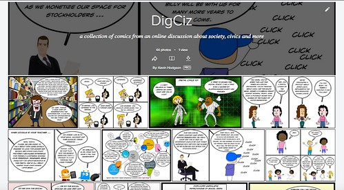 DigCiz Comic Collection Screenshot