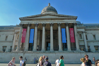 London - National Gallery facade