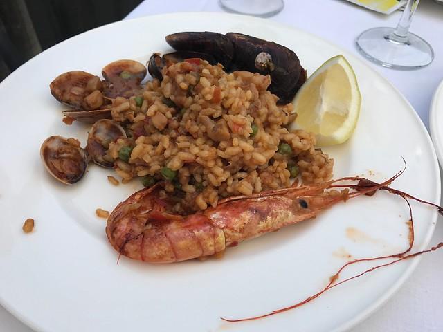 Paella of seafood - El Rincon de Pepe