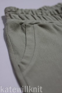 katewillknit | Hudson Pant Pocket Band Detail