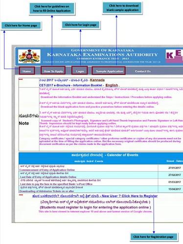 Karnataka MBBS Application Form 2017