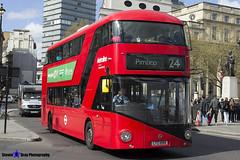 Wrightbus NRM NBFL - LTZ 1099 - LT99 - Pimlico 24 - Metroline - London 2017 - Steven Gray - IMG_8711