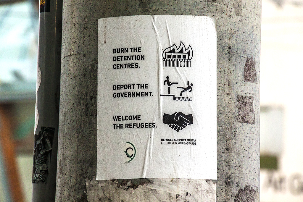 BURN THE DETENTION CENTRES DEPORT THE GOVERNMENT--Toronto