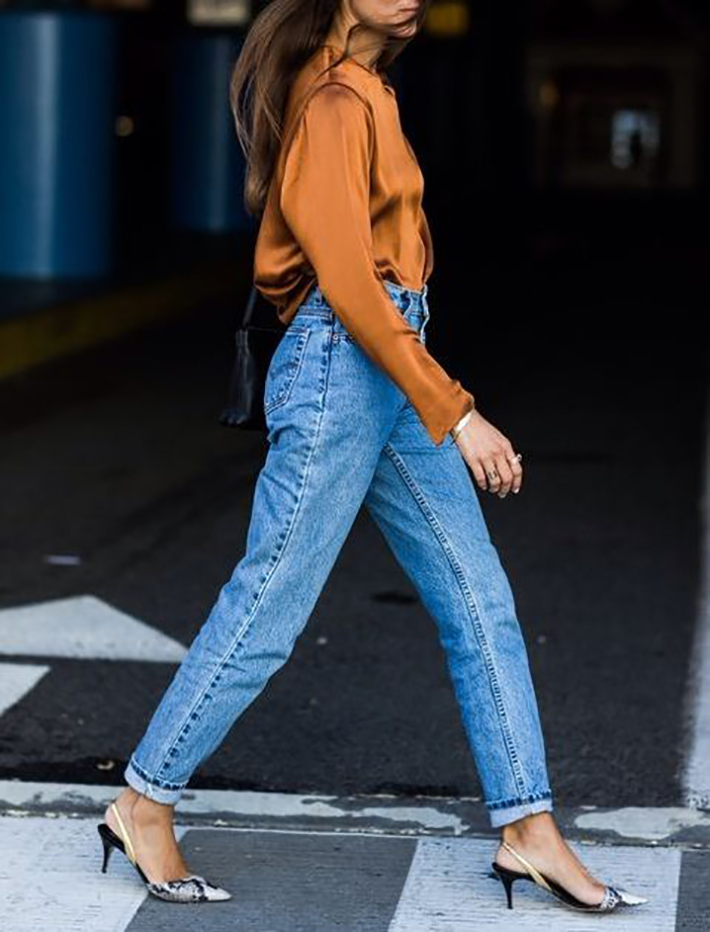 how to wear kitten heels summer 2017 street style outfits fashion trend9