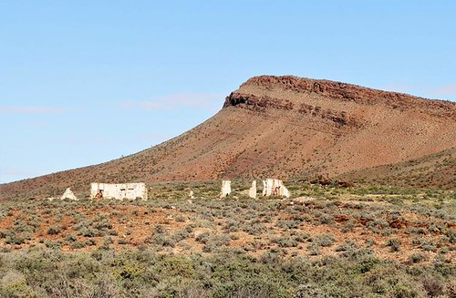 Ruins near Puttapa Gap, via Copley, Outback South Australia
