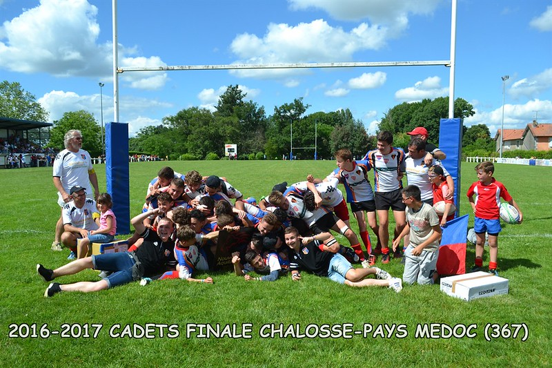 2016-2017 CADETS FINALE CHALOSSE - PAYS MEDOC