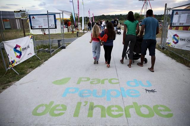 Inauguration PARC du PEUPLE de L'HERBE