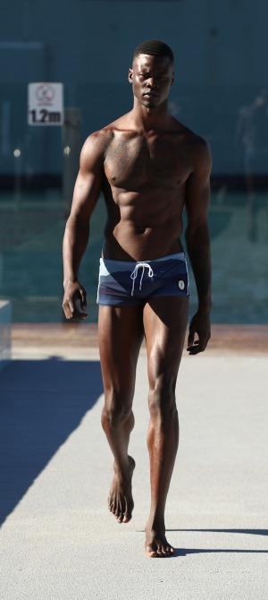Delaware native Garrett Neff debuts his swimwear brand