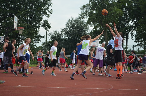 NRW Streetball Tour at the Ruhr Games