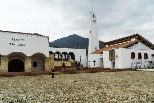 Guatavita Iglesia y Teatro