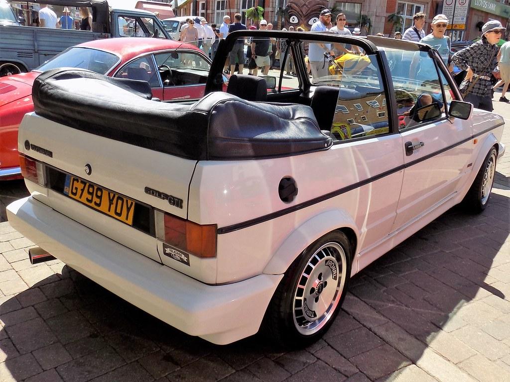 1990 Volkswagen Golf 1781cc Gti G799yoy Registration G799y Flickr By Midlands Vehicle Photographer