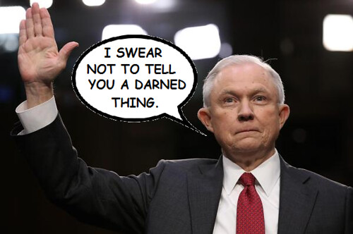 Jeff Sessions Stonewalls the Senate