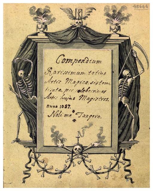 001-Portada-Compendium rarissimum…1775- Wellcome Library