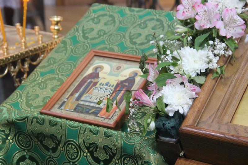 Молебен о семье и чаепитие 11 июня 2017