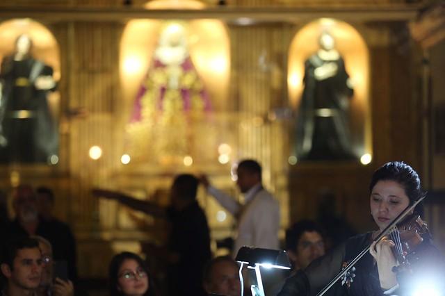 Orquesta Sinfónica Nacional se luce en Basílica de Nuestra Señora del Rosario