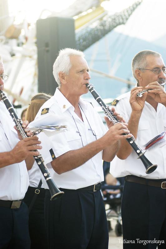 Музыканты из оркестра Тивата