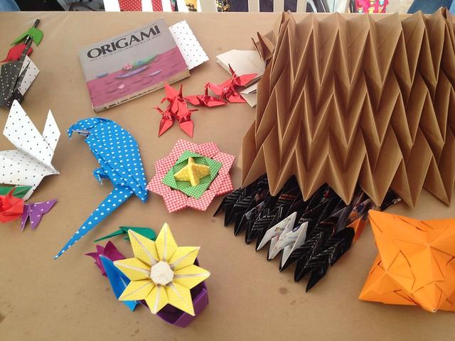 Origamistas.club na 6a. Edição da Makerfest
