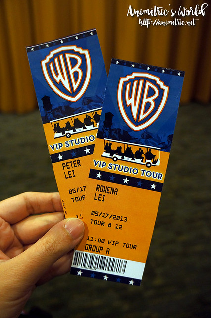 Warner Bros VIP Studio Tour
