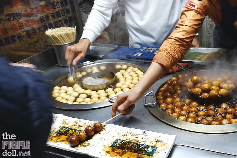 16-10 Fish balls at Shilin Night Market