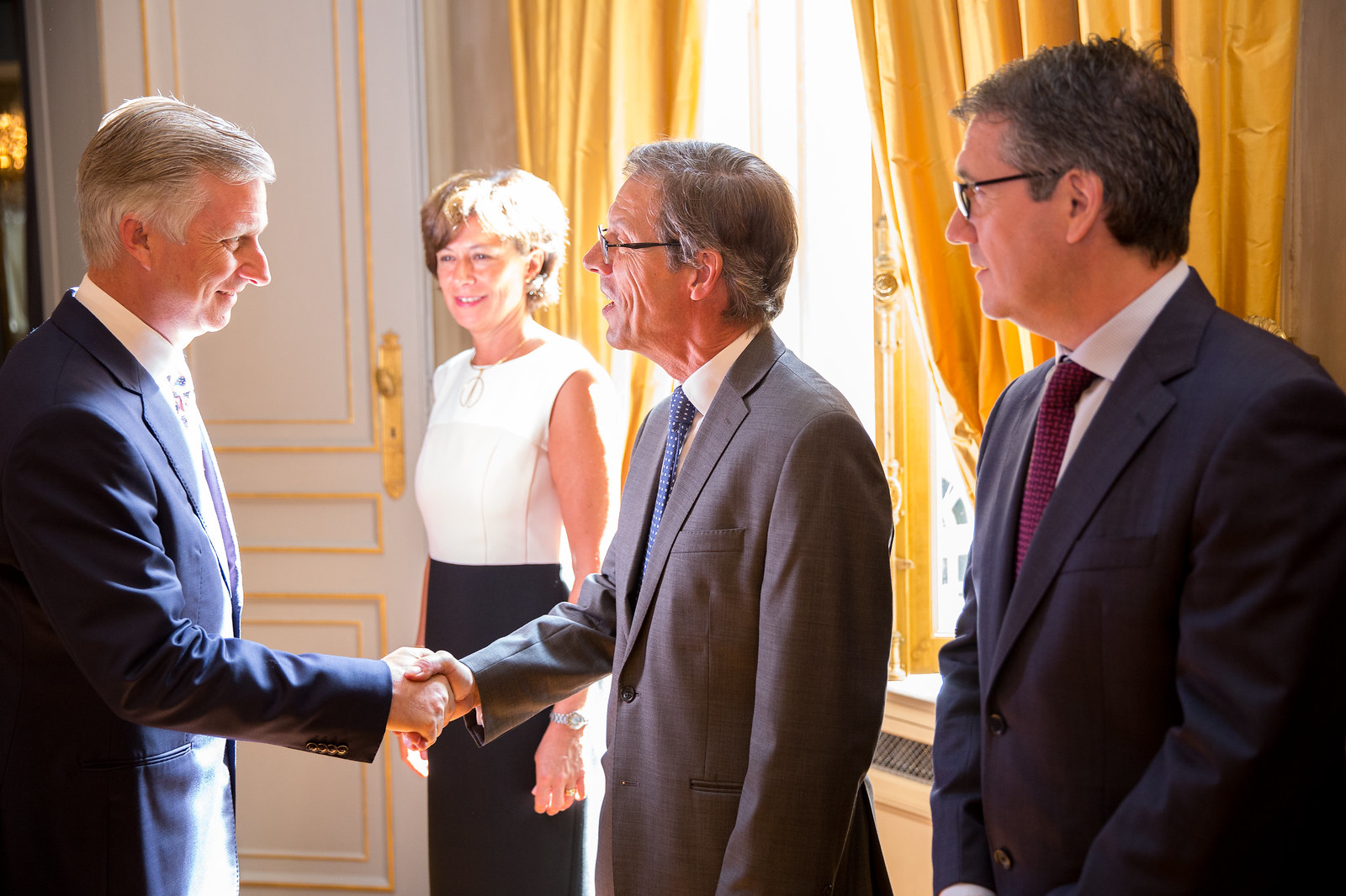 Executive Council meet H.M. King Philippe of the Belgians