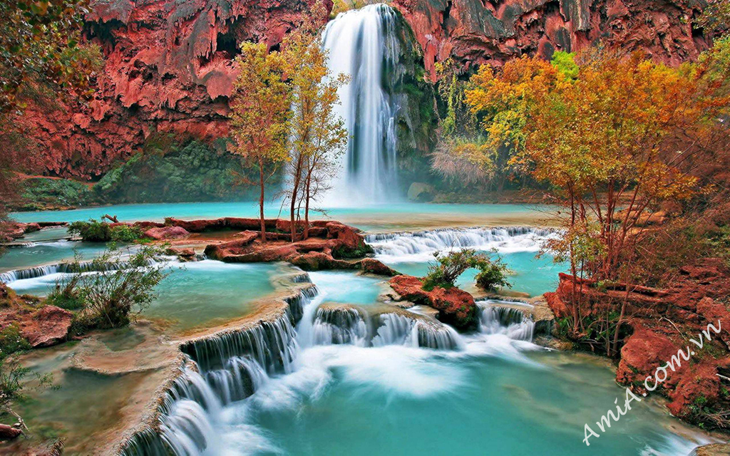 waterfall wallpapers AmiA