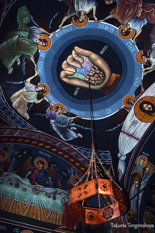 Потолок церкви Св. Троицы