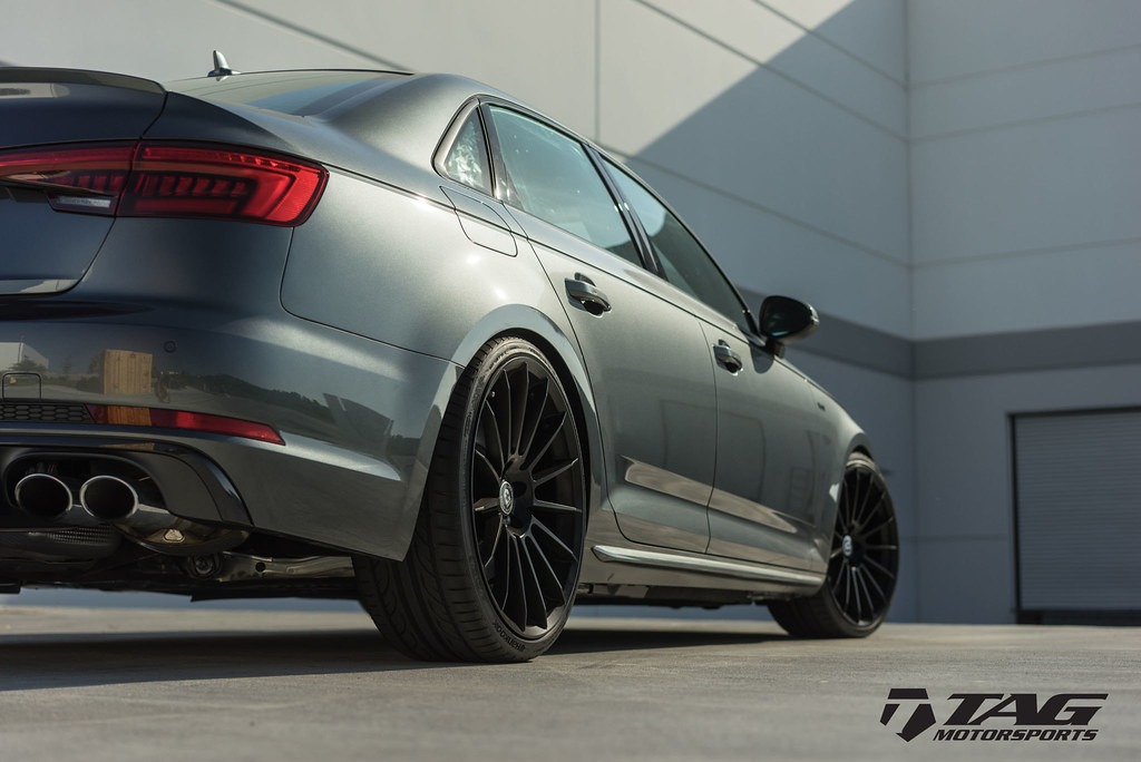 Hre Wheels Audi B9 S4 With Flowform Ff15 Wheels In Tarmac 6speedonline Porsche Forum And
