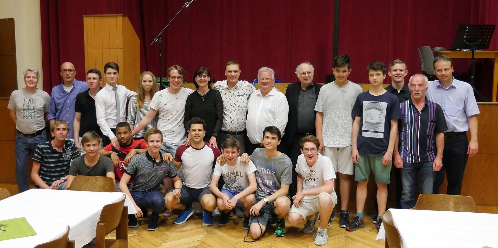 70-Jahresfeier TTC Flötzersteig-Sportklub