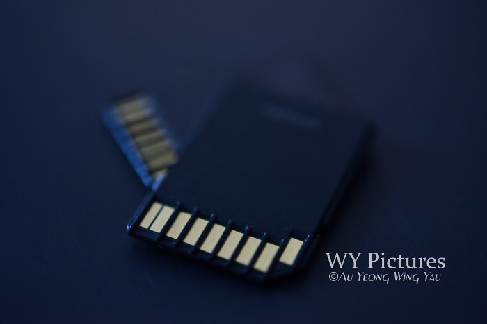 SD Card Close-up