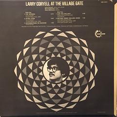 LARRY CORYELL:AT THE VILLAGE GATE(JACKET B)