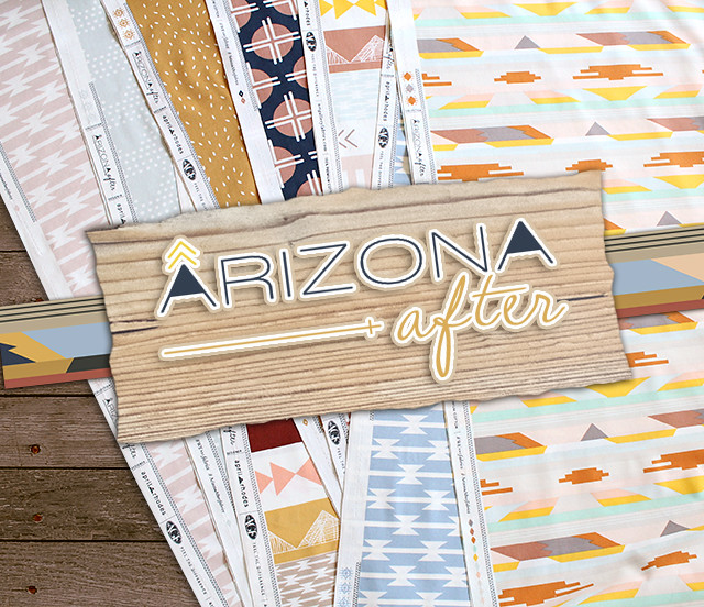 Art Gallery Fabrics Arizona After Collection by April Rhodes