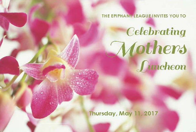 Celebrating Mother's Day Luncheon 2017