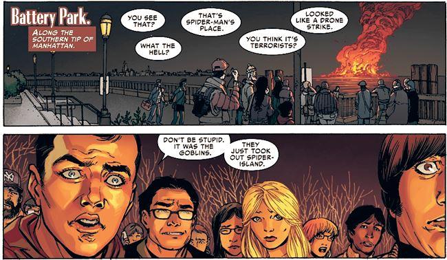 Marvel tbbt2_ il cast nel fumetto di Spider-Man