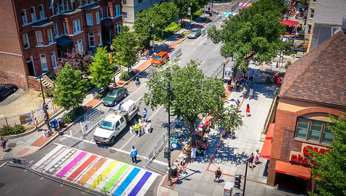 2017.06.10 Painting of #DCRainbowCrosswalks Washington, DC USA 6436 | by tedeytan
