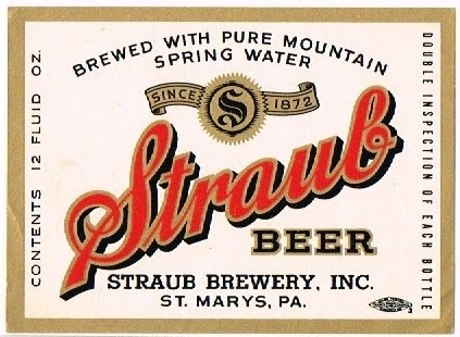 Straub-Beer-Labels-Straub-Brewery_1950
