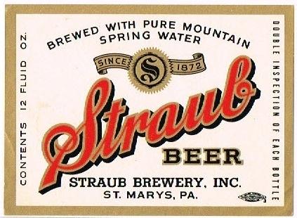 Straub-Beer-Labels-Straub-Brewery_1950